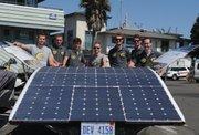 Solar Team Eindhoven shows off their four-seat ride