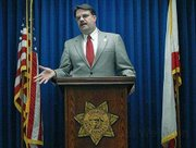 Sheriff Bill Brown addresses the media the day after the shooting