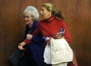 Sara Miller McCune (left) and Ann Louise Bardach