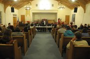 Dozens filled Second Baptist Church to discuss racial profiling