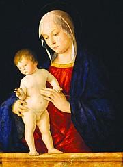 """Giovanni Bellini, """"Virgin and Child,"""" c. 1480-85"""