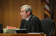Judge Clifford Anderson hears victim impact statements at the Kimberly Kreis sentencing (Feb. 7, 2015)