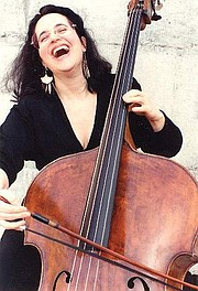 <strong>ACE OF BASS:</strong>  Double bassist Cléna Stein says today's L'Orchestre de la Suisse Romande is more worldly than ever.
