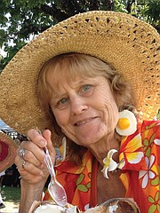 <b>EFFERVESCENT:</b>  Sandy Smith is lovingly remembered as a joyful and active spirit by her many friends at Garden Court, Habitat for Humanity, LifeChronicles, and beyond.