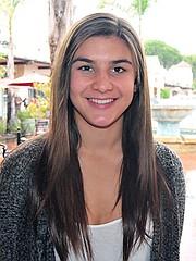 Amber Melgoza, Santa Barbara High basketball