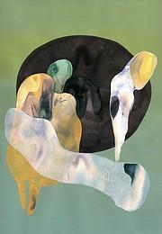 <i>Untitled</i>, 2015, acrylic on panel, 10 x 8 inches