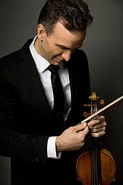 <b>BACH TO BACH: </b> Violinist Gil Shaham will play Bach's Partitas and Sonatas for solo violin accompanied by projections by artist David Michalek this Tuesday, March 31, at the Granada Theatre.