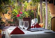 Garden Room Restaurant at the Santa Maria Inn