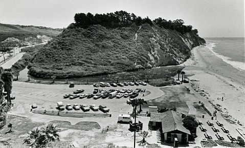 Hendry's Beach, circa 1980, the former site of William and Annie Hendry's farmstead.