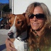 Serena Schoepp and her dog, which was fatally shot by a Sheriff's deputy