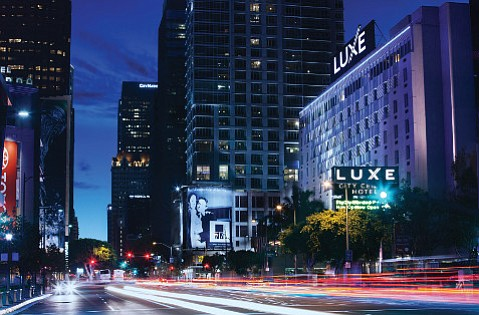 Luxe City Center sits right across the street from all the action at L.A. Live.