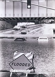 <strong>SWIMMING WEATHER: </strong> Even before the violent storms of 1997-98, Santa Barbara was hit with heavy rains and flooding during the 1994-95 El Niño.