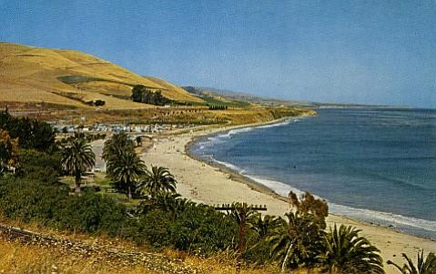 Somewhere along the Refugio coast, the <em>Forester</em>, with its three Japanese survivors, dropped anchor.