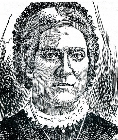 Mary Moure Graham from an undated <em>San Francisco Chronicle</em>