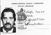 Ralph Lowe's ident card