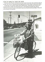 Page from City of Santa Barbara 1975 transportation pamphlet