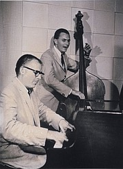 Von Whitlock on bass with Forrest Westbrook on piano