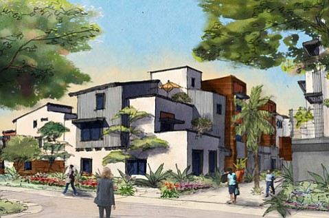 South Kellogg Avenue's Old Town Village was approved by the Goleta City Council in October, a council on which all five members were elected or appointed unopposed.