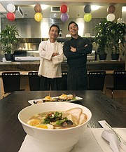 <strong>FROM SAIGON TO JAPAN: </strong>Building on the success of his popular pho restaurants, William Lam opened Sachi Ramen & Robata Bar with his son, Hieu.