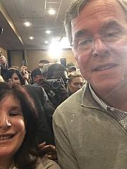 with Jeb Bush