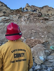 A search by County Fire's Urban Search and Rescue (USAR) Team revealed no one had been injured.