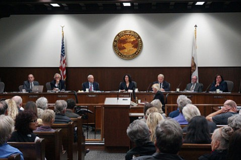 The City Council meeting on February 22 was packed with over 200 residents.