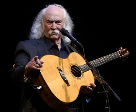 David Crosby packed the house on Tuesday and donated his proceeds to bring down Diablo Canyon's nuclear plant.