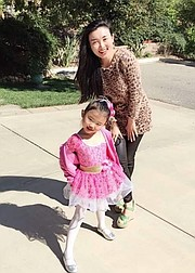 Jennie Yu and daughter Emily