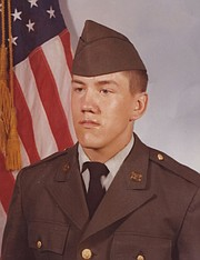 Alcox joined the U.S. Army right out of high school.
