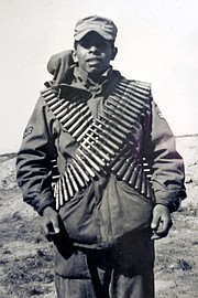 A picture of Willie Rodriguez taken during his five-year service in the U.S. Air Force.