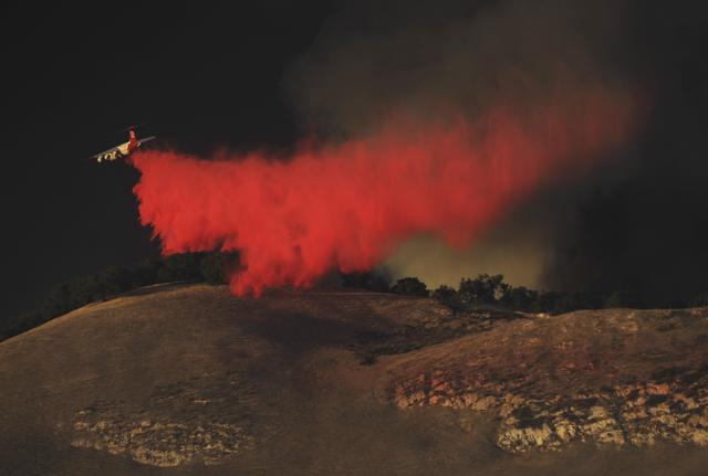 By Paul Wellman. The Rey Fire
