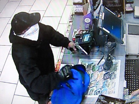 Police have asked for the public's help in identifying this man who robbed the 7-Eleven at State and Mission on September 7.