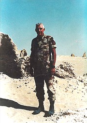 <b>BORN TO SERVE?</b>  Bruce Porter spent his 25-plus year career in the U.S. Army Corp of Engineers, retiring at the rank of colonel.
