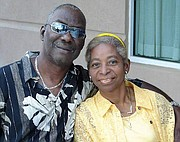 Arthur Green Jr. and his wife, Lena Young Green