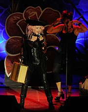Cyndi Lauper Delights Fans at the Arlington.