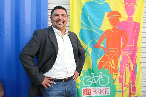 Eddie Gonzalez first set up a bike repair station at La Casa de la Raza, and one day found a line of people waiting to make repairs wrapped around the building. He's being recognized for helping to start Bici Centro.