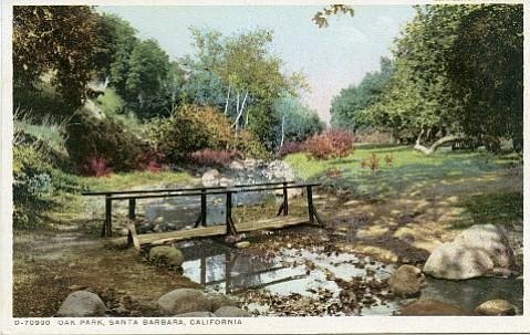 Santa Barbara's Oak Park, ca. 1915