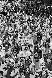 Anti-Vietnam rally in Alameda Park, Santa Barbara, May 8, 1970