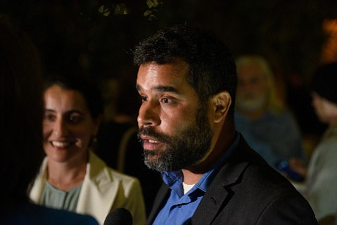 The chair of Santa Barbara's Democratic Party, Daraka Larimore Hall, felt the national election was a wake-up call to progressives that what ails the nation is not being cured.