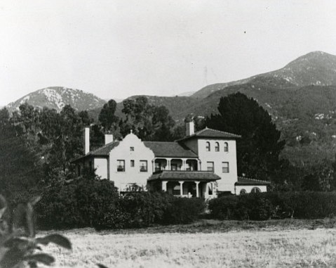 Riven Rock was home for a short time to Stanley McCormick and his wife, Katharine Dexter McCormick, and was torn down after Santa Barbara's 1925 earthquake.