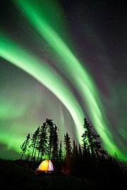 Yellowknife, Northwest Territories, Canada, 9:55 p.m., September 28