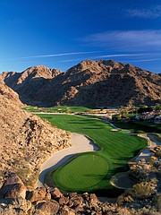 Mountain Course at La Quinta's 15th hole