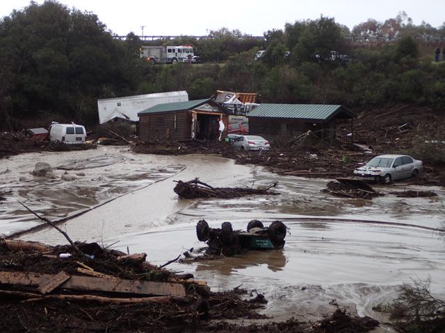 Massive Flooding at El Capitan Canyon