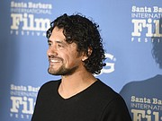 Edgardo Garcia from the movie Charged on the red carpet of the 2017 Santa Barbara International Film Festival Opening Night at the Arlington Theatre