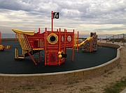 Marina Park playground in Ventura