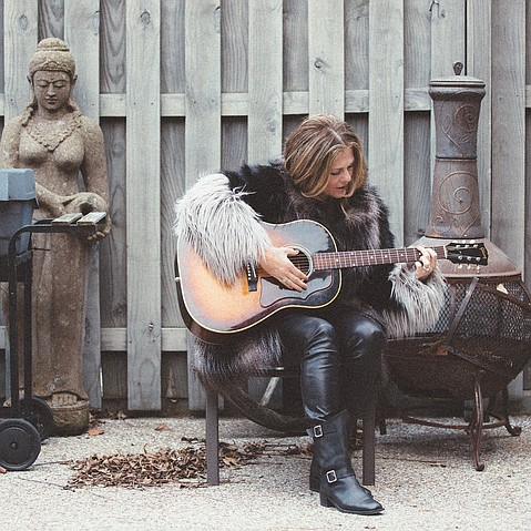 """Rita Wilson was inspired to host Liner Notes as she delved into the songwriting process. """"The process is so intimate when you're writing with other people, but it's very respectful and protected in a way,"""" she said."""