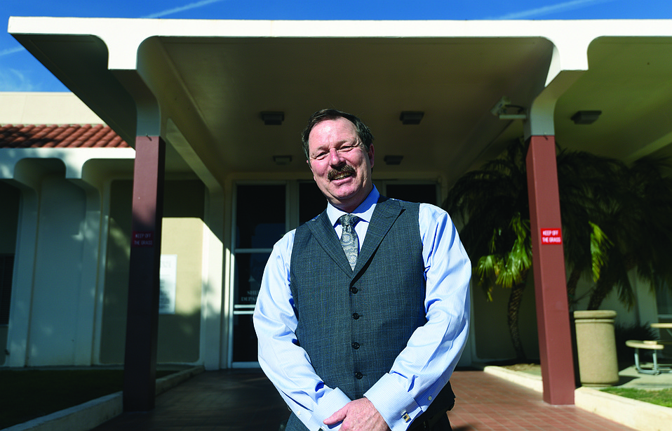 TURNAROUND:  Last year, mental-health activists chided Sheriff Bill Brown for hiring retired custody lieutenant Mark Mahurin (above) to oversee the jail's grievances process after widespread criticism about medical care for inmates. Now, they are praising the long-serving lieutenant for implementing positive changes.