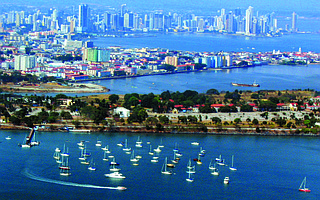 The skyline of Panama City may grow ever higher with 20 more high-rises being planned.