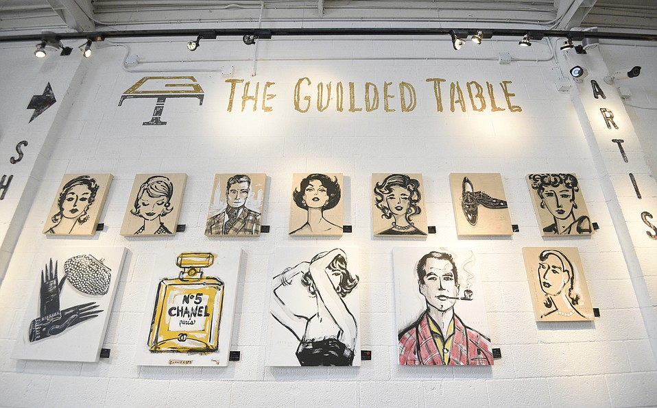Peter Horjus at the Guilded Table