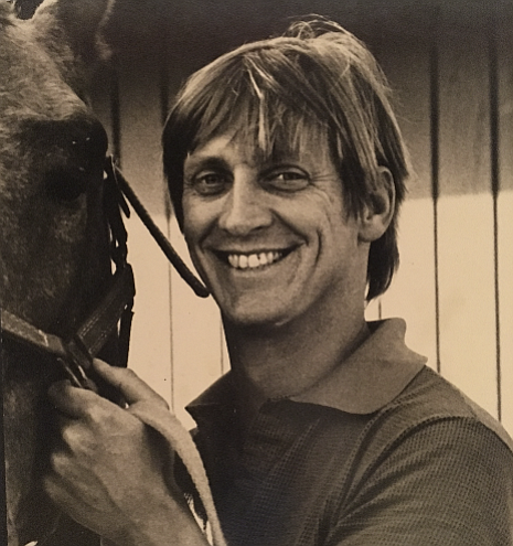 As a youngster, Bob Saunders was very good at organizing mischief; he later found his footing as a large-animal veterinarian. Below, he introduces a foal to its mother.